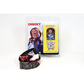 Chucky Figure plus Lowlife Graveyard Shift Belt from Child's Play