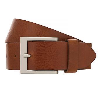 BERND GÖTZ belts men's belts leather belt cowhide Brown 2358