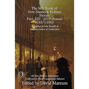 MX Bok av nya Sherlock Holmes Berättelser Del XIII av David Marcum