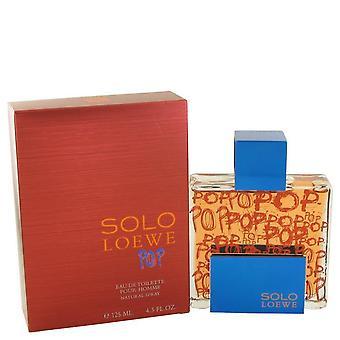 Solo loewe pop eau de toilette spray by loewe 492778 127 ml