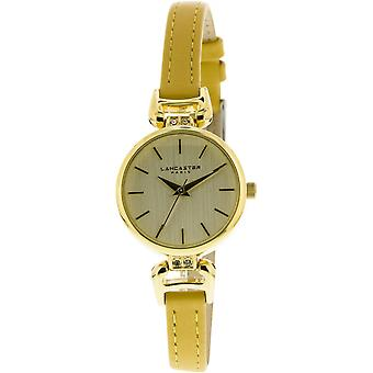 Lancaster watch watches DIVA LPW00306 - watch DIVA leather yellow woman
