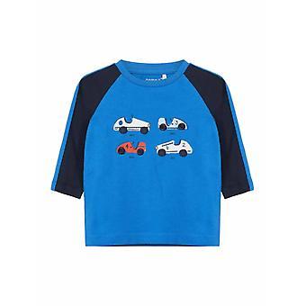 Name It Jongens Tshirt Temon Strong Blue