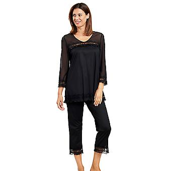 Féraud 3201038-10995 Women's Couture Black Pyjama Set
