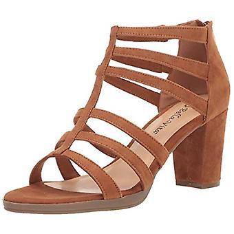 Bella Vita Womens Leah Suede Peep Toe Casual Ankle Strap Sandals