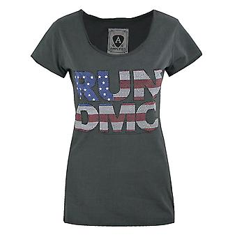Amplified Run DMC USA Diamante Women's T-Shirt
