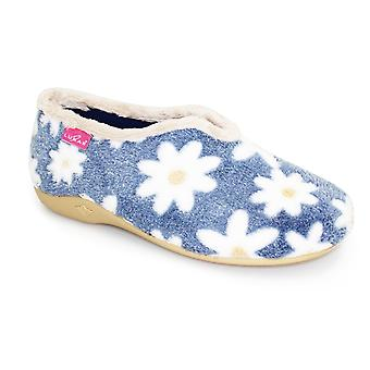 Lunar Daisy bloem slipper