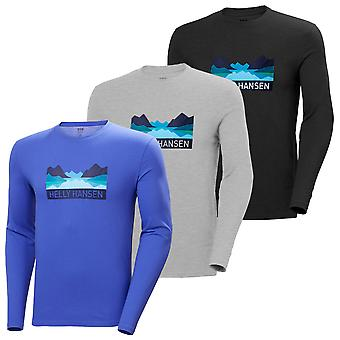 Helly Hansen Mens 2020 Nord Graphic Longsleeve Lightweight Regular Fit T-Shirt
