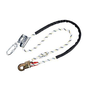Portwest work positioning lanyard with grip adjuster fp26