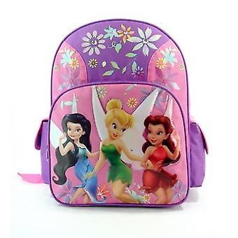 Backpack - Disney - Tinkerbell Fairies Large School Bag New 606398