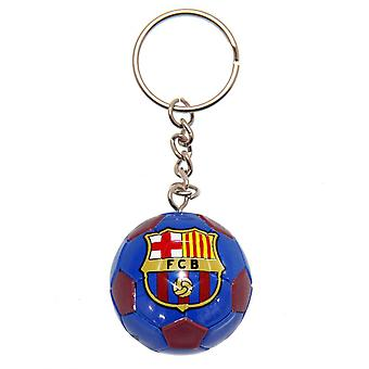 FC Barcelona Football Key Ring