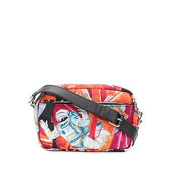 Valentino Garavani Ty2b0874euglb8 Men's Multicolor Fabric Shoulder Bag