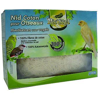 Tyrol Cotton Nest For Birds (Vogels , Accessoires voor kooien , Nesten en Toebehoren)