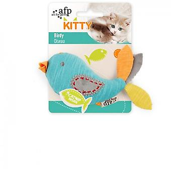 AFP Kleiner Vogel Kitty (Katzen , Spielzeug , Plüsch- und Federspielzeug)
