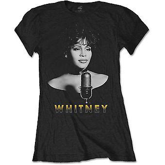 Damen Whitney Houston BW Foto offizielle T-Shirt T-Shirt weiblich