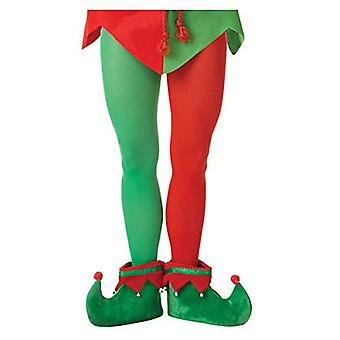 amscan Elf Tights, Adult, Plus Size