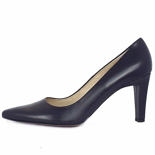 Peter Kaiser Tosca Ladies Classic Pointed Court Shoes In Navy XFIP3X