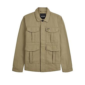 Lyle & Scott Utility Jacket Lichen Green