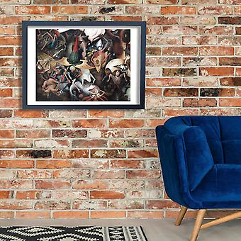 Pieter Bruegel the Elder - Fall of rebel Angels Poster Print Giclee