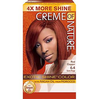 Crème of Nature Exotic Shine Colour Red Copper 6.4