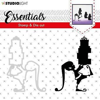 Studio-Licht-Stempel & Sterben Geschnitten A6 Essentials Silhouetten nr 34 BASICSDC34