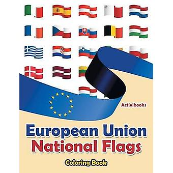 European Union National Flags Coloring Book by Activibooks