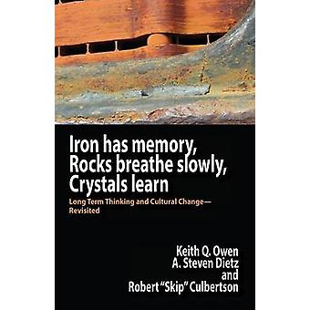 Iron Has Memory Rocks Breathe Slowly Crystals Learn Long Term Thinking and Cultural ChangeRevisited by Owen & Keith Q.
