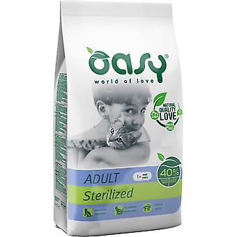 Oasy Sterilized Chicken Adult (Cats , Cat Food , Dry Food)