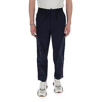Comme Des Garçons Shirt S281492 Men's Blue Cotton Pants