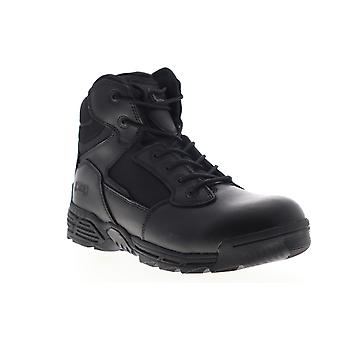Magnum Stealth Force 6.0 SZ  Mens Black Wide Tactical Boots Shoes