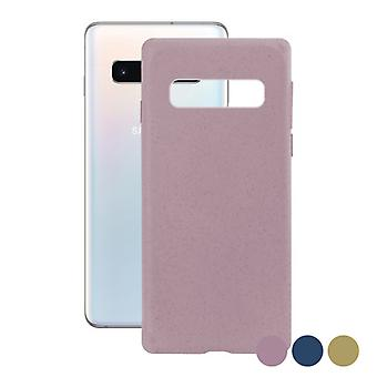 Couverture mobile Samsung Galaxy S10 KSIX Eco-Friendly/Pink