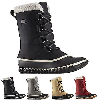 Womens Sorel Caribou Slim Nubuck Waterproof Winter Hiking Mid Calf Boots