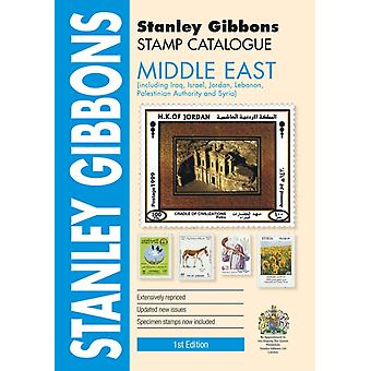 Middle East Stamp Catalogue by Hugh Jefferies