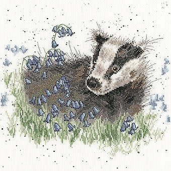 Bothy Threads Cross Stitch Kit - Bluebell Wood