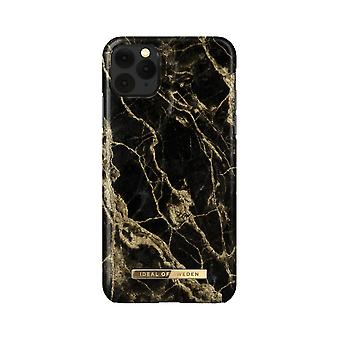 iDeal Ruotsin iPhone 11 Pro Max / XS Max Shell - Golden Smoke Marble