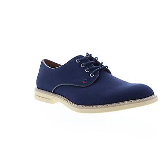 Tommy Hilfiger Engle 2 Herren blau Canvas Casual Lace Up Oxfords Schuhe