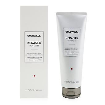 Goldwell Kerasilk Revitalize Exfoliating Pre-wash (for All Scalp Types) - 250ml/8.4oz