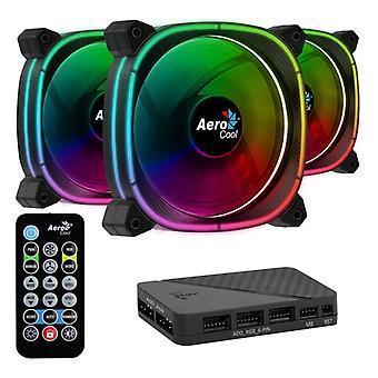 Ventilator Aerocool Astro 12 Pro � 12 cm 1000 rpm RGB LED