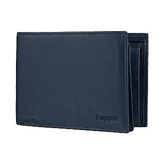 Bugatti Sempre plånbok mens plånbok handväska blå 4132
