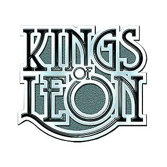 Kings Of Leon Scroll band Logo new Official Metal Pin badge