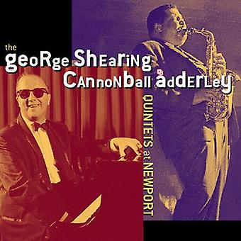 Shearing/Adderley - George Shearing/Cannonball Adderley Quintets at NE [CD] USA import