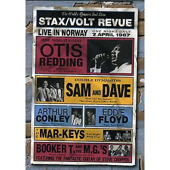 Stax/Volt Review-Live in Norway 1967 [DVD] USA import