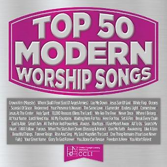 Top 50 Modern Worship [CD] USA import