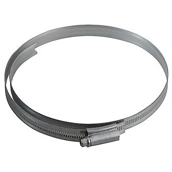 Jubilee 7.1/2in Zinc Protected Hose Clip 158 - 190mm (6.1/4 - 7.1/2in) JUB75