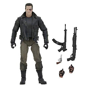 "Terminator 7"" Police Station Assault T-800 MCycle Jacket Fig"