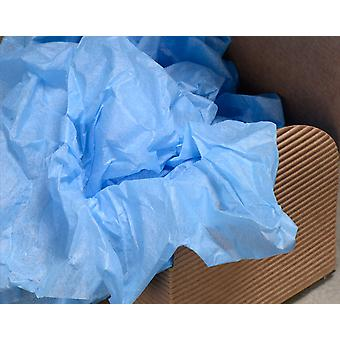 5 Sheets of Best Quality Blue Tissue Paper   Gift Wrap Supplies