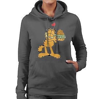 Garfield Love Food Women's Hooded Sweatshirt