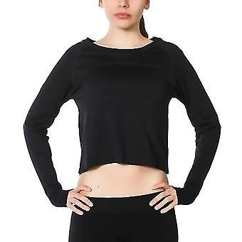 Jerf   Womens Hellnar   Black  Crop Top Shirt
