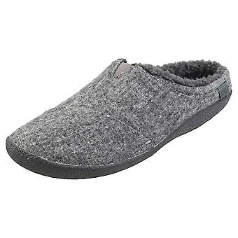 Toms Berkeley Mens Slippers Shoes in Grey