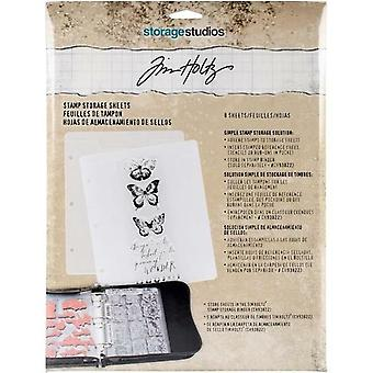 Advantus Tim Holtz Stamp Storage Sheets (8szt)(CH93823)