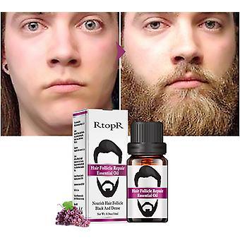 Men Groomed Beard Moustache Essential Oil Moisturizing Fast Growth Nourishing Anti Dust Oil Hair Care